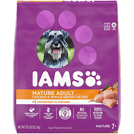 Iams ProActive Health Chicken Mature Adult Dry Dog Food, 29.1 lb. Bag