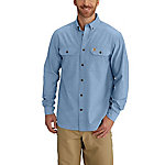 Carhartt Men's Fort Solid Long Sleeve Shirt