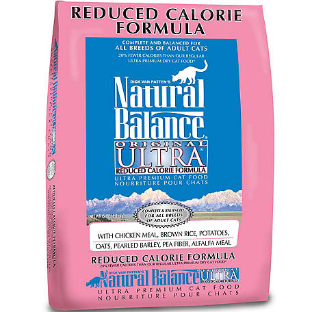 Natural Balance Original Ultra Reduced Calorie Formula Dry Cat Food