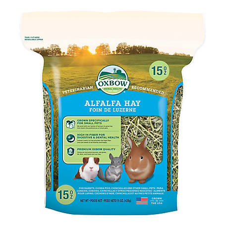Oxbow Animal Health Alfalfa Hay 15 oz. C12, 101-101-0150