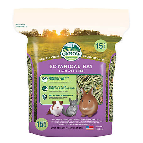 Oxbow Animal Health Botanical Hay 15 oz. C12, 101-109-0150