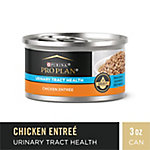 Purina Pro Plan FOCUS Urinary Tract Health Formula Chicken Entree in Gravy Adult Wet Cat Food, 3 oz. Can