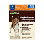 Sentry 7 Way De-Wormer, Small Dog, Pack of 2