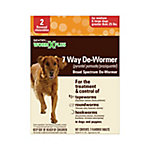 Sentry 7 Way De-Wormer, Large Dog, Pack of 2