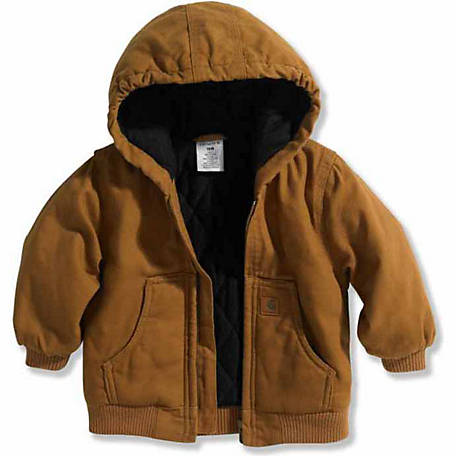 56bbc08cf15 Carhartt Boys' Insulated Active Jacket
