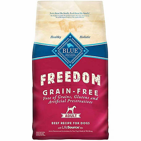Blue Buffalo Freedom Dog Food, 11 lb. Bag