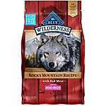 BLUE Wilderness Rocky Mountain Recipe Red Meat For Small Breed Adult Dogs, 4 lb. Bag