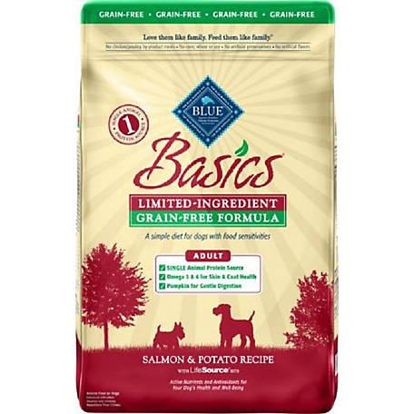 Blue Basics Grain Free Salmon Potato Recipe Adult Dog Food 22 Lb At Tractor Supply Co