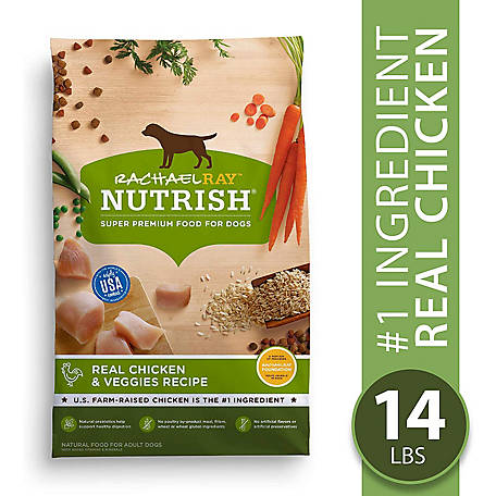 Rachael Ray Nutrish Natural Chicken & Veggies Recipe Dog Food, 14 lb.