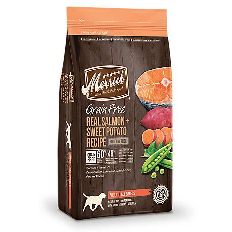 Merrick Grain Free Real Salmon Sweet Potato Recipe 4 Lb At Tractor Supply Co