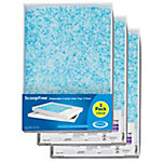 PetSafe Cat Litter Box Tray Refills with Premium Blue Non-Clumping Crystals, 3-Pack