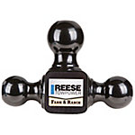 Reese Towpower Towing Tri-Ball Ball Mount, Class V