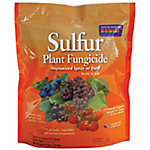 Bonide Sulfur Plant Fungicide Micronized Spray or Dust, 4 lb., 142