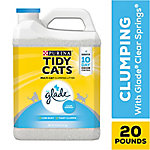 Tidy Cats Glade Tough Odor Solutions Clumping Litter, 20 lb. Jug