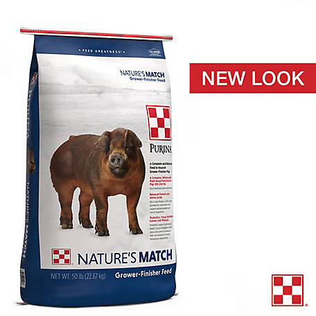 Purina Nature's Match Grower-Finisher, 50 lb.