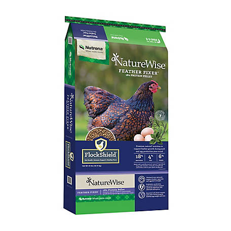Nutrena NatureWise Feather Fixer, 40 lb., 91591