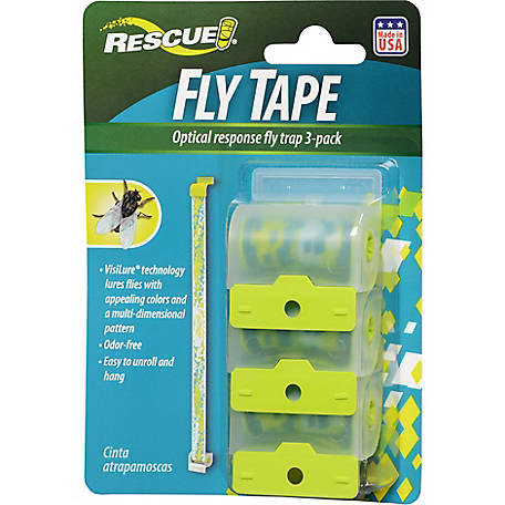 Rescue Fly Tape, Pack of 3