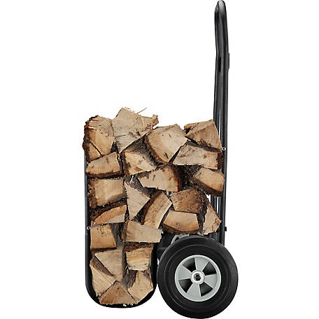 RedStone Log Caddy with Flat Free Tires