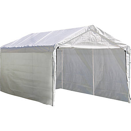 ShelterLogic MAX AP Canopy Enclosure Kit (For Use With TSC SKU 1110060, 10 ft. x 20 ft. MAX AP Canopy), 25775
