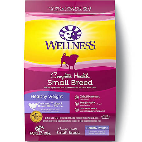 Wellness Complete Health Natural Small Breed Healthy Weight Dry