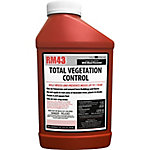 RM43 Total Vegetation Control, Weed Preventer Concentrate, 43.68% Glyphosate, 32 oz.