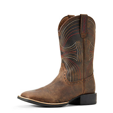 Ariat Men's Sport Wide Square Toe Western Boot