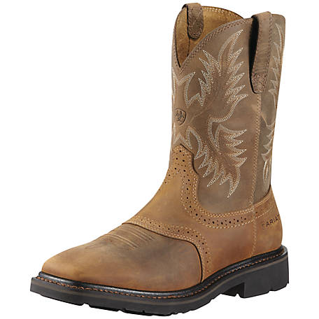Ariat Men's Sierra Wide Square Toe ST Work Boot