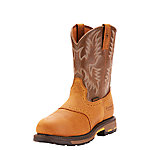 Ariat Men's WorkHog Pull-On Safety Toe Work Boot