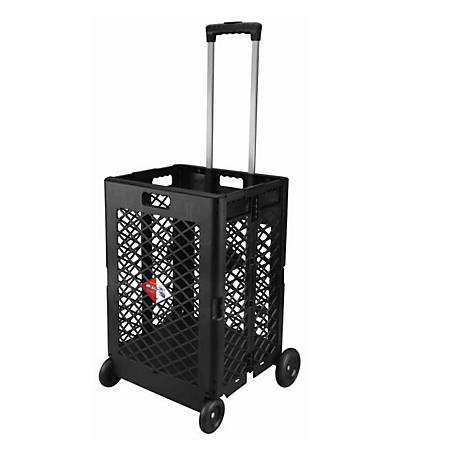 Olympia Tools Pack-N-Roll Mesh Rolling Cart