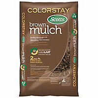 Deals on 3-Pack Scotts Colorstay By Scotts Brown Mulch 2 cu. ft.
