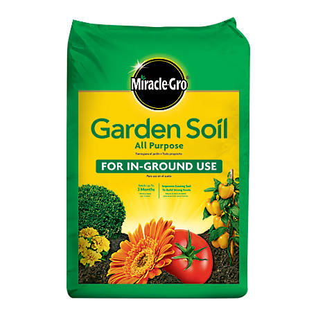 Miracle-Gro Miracle-Gro Garden Soil All Purpose for In-Ground Use 2 cu. ft., 75052430
