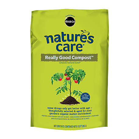 Miracle-Gro Nature's Care Really Good Compost, 1 cu. ft., 70951120