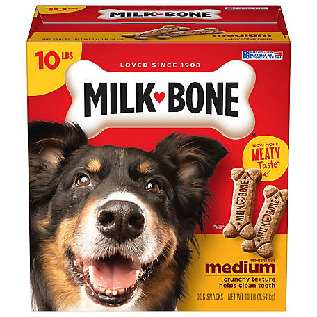 Milk Bone Original Dog Treats for Medium Dogs, 10 lb.