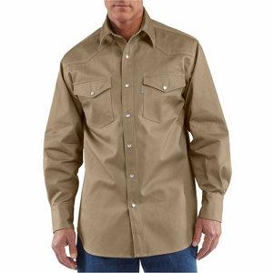 Carhartt Men's Ironwood Twill Work Shirt