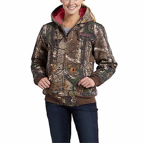 Carhartt Women s Camo Active Jacket at Tractor Supply Co. a677bce5c3
