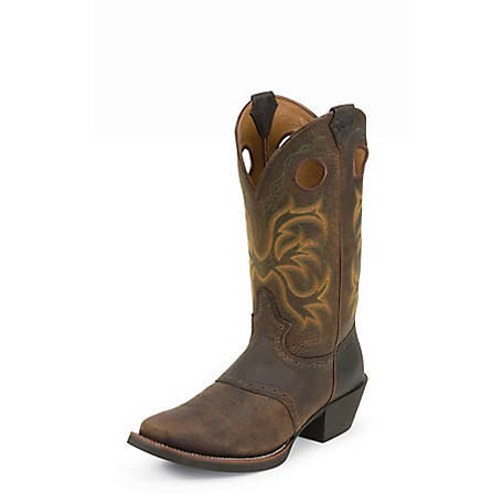Justin Men's Rawhide Stampede Collection Boots