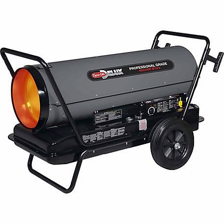 Dyna Glo Delux 400k Btu Kerosene Forced Air Heater At