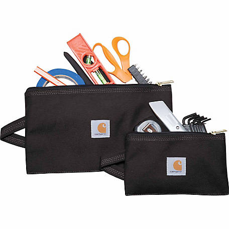 Carhartt GEAR Utility Tool Pouches, Black, Set of 2
