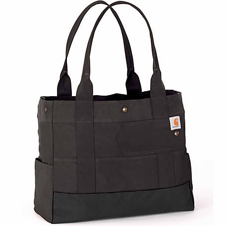 Carhartt Women's Legacy East West Tote Bag, Black