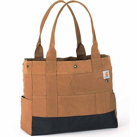 Carhartt Women's Legacy East West Tote Bag, Carhartt Brown
