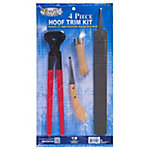 Tough-1 4-Piece Hoof Trim Kit