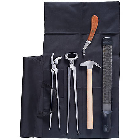 Tough-1 7-Piece Professional Farrier Kit with Cordura Case