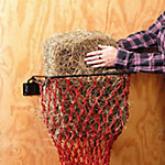 Tough-1 Original Hay Hoops Collapsible Wall Hay Feeder With Net