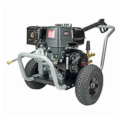 Simpson Water Blaster 4200 PSI at 4.0 GPM HONDA GX390 with AAA Triplex Plunger Pump Gas Pressure Washer, 60205