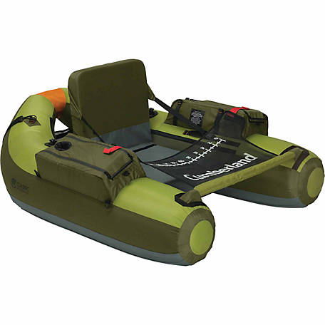 Classic Accessories Cumberland Float Tube, Apple Green and Olive, 44 in. W x 56 in. L