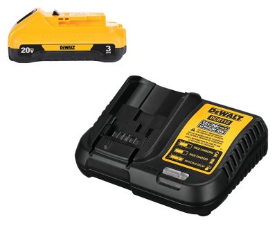 Buy DeWALT 20V MAX Li-Ion 3.0 Ah Battery & Charger Online