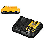 DeWALT 20V MAX Li-Ion 3.0 Ah Battery & Charger
