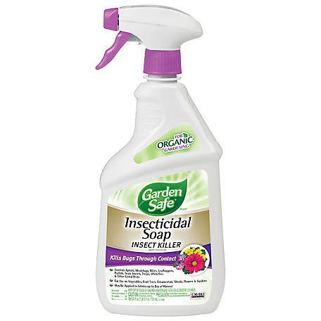 Garden Safe Insecticidal Soap Insect Killer, 24 fl. oz., HG-10424X