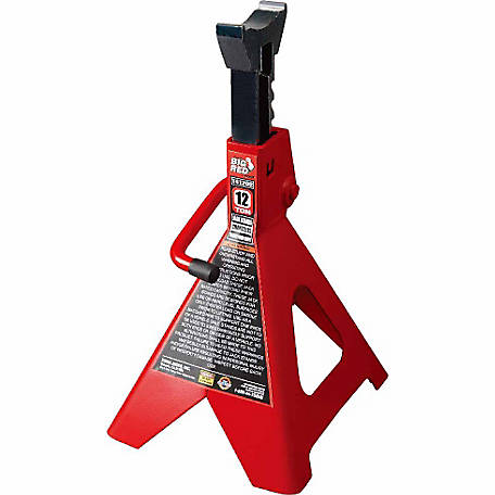 Big Red 12 Ton Jack Stands