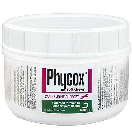 Phycox ONE Soft Chews Dog Supplement, 60 ct